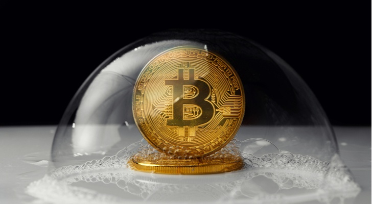 bitcoin bubble - The Bitcoin Bubble Burst Because It Had To