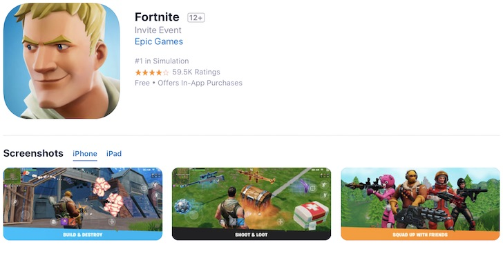 Fortnite On Ios Showcases Apple S Iphone Advantage Over Android