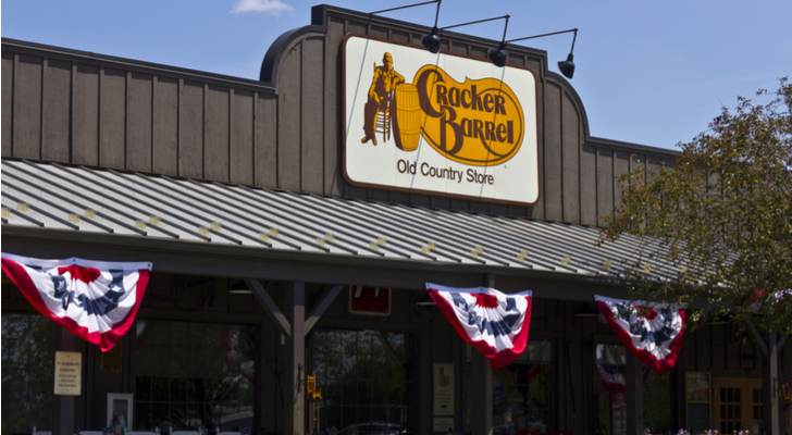Cracker Barrel Old Country Store (CBRL) Updates FY18 Earnings Guidance