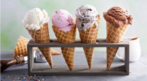 a rack of ice cream cones. invest in startups