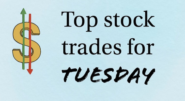 top stock trades - 5 Top Stock Trades for Tuesday: AMZN, GLD, T