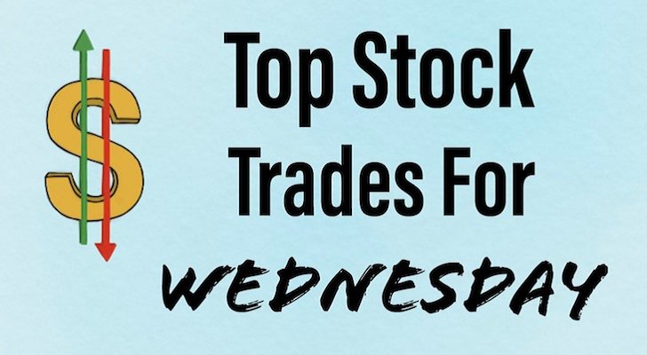 top stock trades - 5 Top Stock Trades for Wednesday: Apple, Facebook and Gold