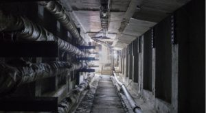 a picture inside of a power plant
