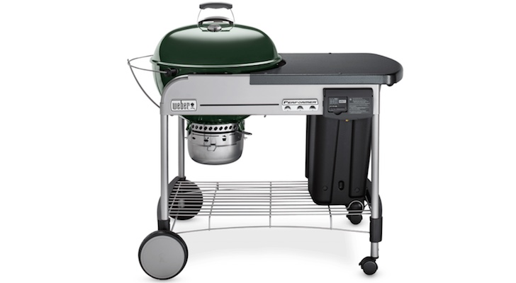 Best Grills for Your Summer BBQ: Weber Performer Deluxe Charcoal Grill