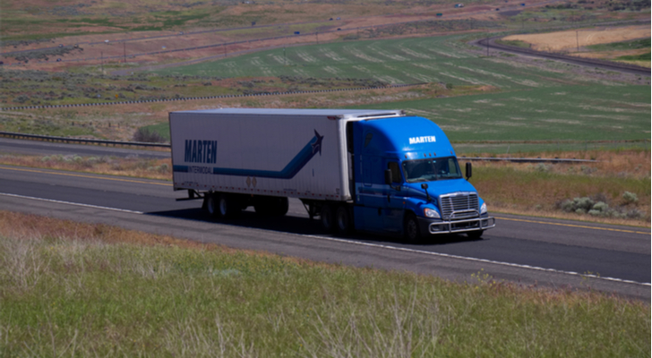 Trucking Stocks to Drive Your Portfolio: Marten Transport (MRTN)