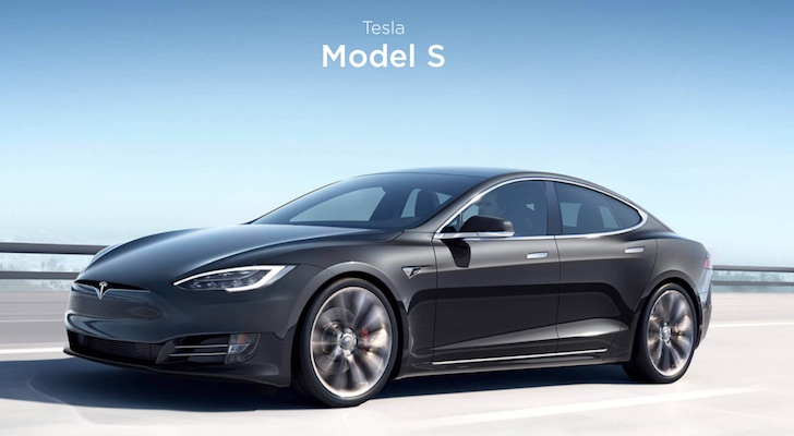 10 Best Electric Cars: Tesla Model S