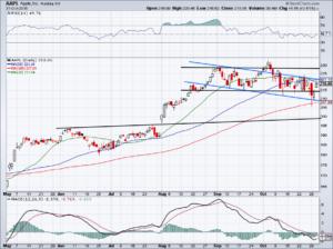 trading AAPL stock ahead of earnings