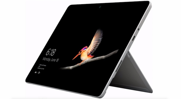 Holiday Gift Guide 2018 (Best Tablets and E-readers): Microsoft Surface Go
