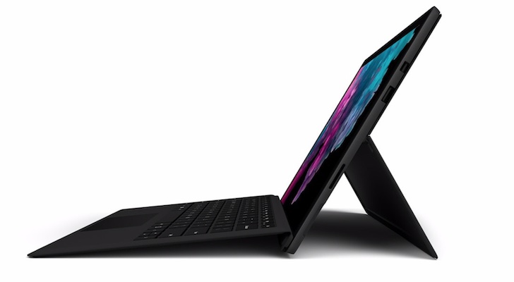 Holiday Gift Guide 2018 (Best Tablets and E-readers): Microsoft Surface Pro 6