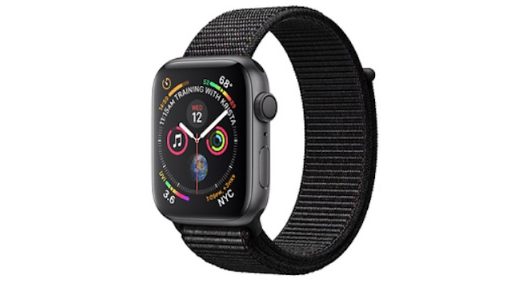 Holiday Gift Guide 2018 (Best Smartwatches and Fitness Trackers): Apple Watch Series 4