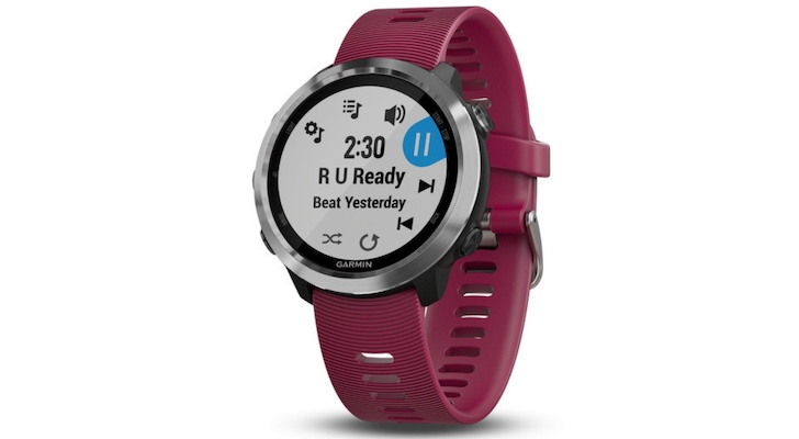 Holiday Gift Guide 2018 (Best Smartwatches and Fitness Trackers): Garmin Forerunner 645 Music