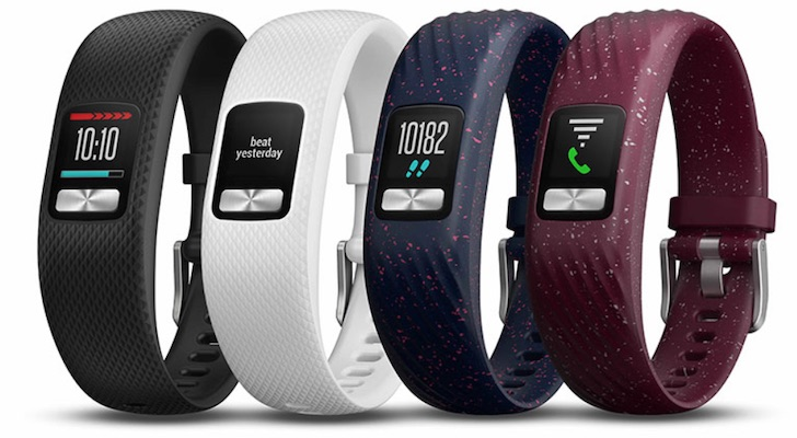 Holiday Gift Guide 2018 (Best Smartwatches and Fitness Trackers): Garmin Vivofit 4