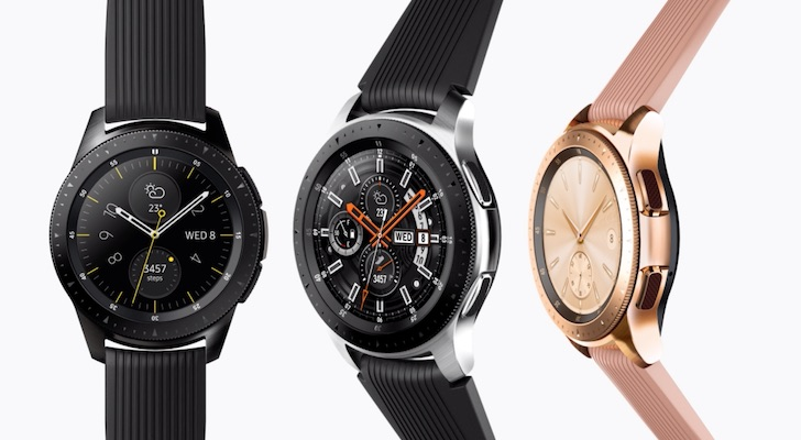 Holiday Gift Guide 2018 (Best Smartwatches and Fitness Trackers): Samsung Galaxy Watch