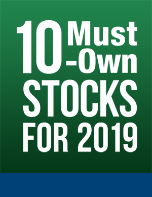 Image of 10 Must-Own Stocks for 2019