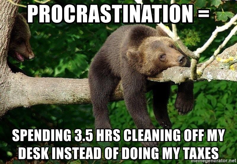 Tax Procrastination Memes As We Head Closer To The April 15 Deadline