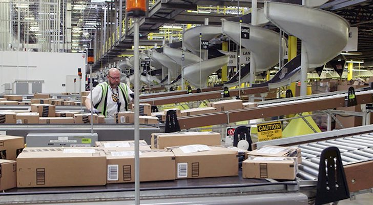 Robots Are Coming for 1,300 Amazon Warehouse Jobs
