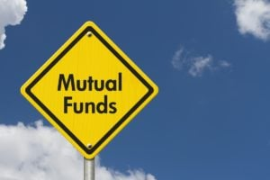 """a road sign that says """"mutual funds"""""""