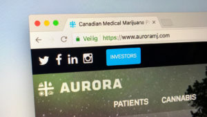 Lottery Ticket stocks: Aurora Cannabis (ACB)
