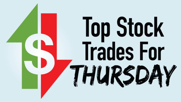 top stock trades - 4 Top Stock Trades for Thursday: AMZN, DIA, SHOP, UTX