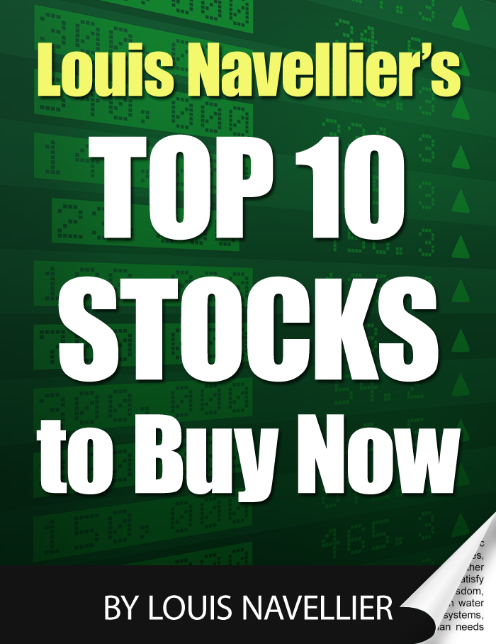 Image of Louis Navellier's Top 10 Stocks