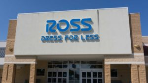 Photo of the storefront of a Ross store
