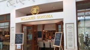 Williams-Sonoma (WSM) store in a shopping mall. stocks to buy