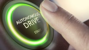 autonomous vehicles button