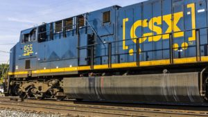The Ride in CSX Stock Might Halt, or at Least Slow Down