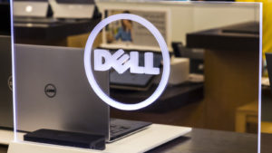 Dell (DELL) Technologies Display and Logo