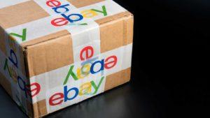 an ebay shipping box. cheap stocks