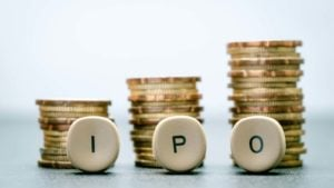 stck of coins and the letters ipo