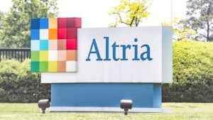 a sign with the Altria logo