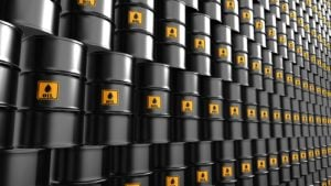 stacks of oil barrels (WLL)