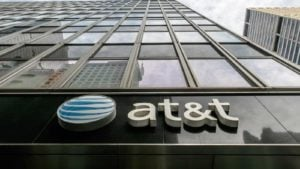 a photo of the AT&T office building