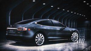 tesla car (overvalued stocks)