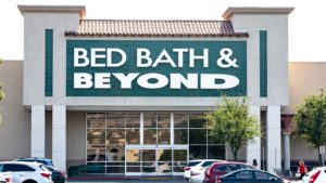bed bath & beyond storefront (BBBY)