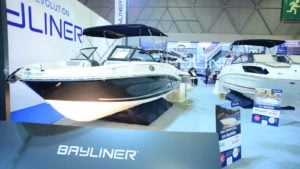 Bayliner Boats on display at 14th CNR Eurasia Boat Show in CNR Expo Center