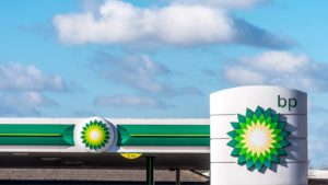 a BP gas station