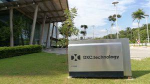 DXC stock