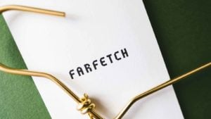 farfetch (FTCH) logo next to a hanger