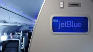 jetblue aircraft interior (jblu stock)