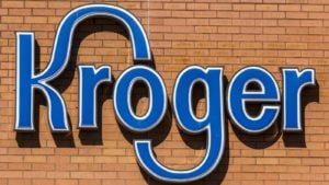 kroger logo on a building