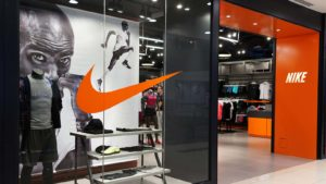 Nike (NKE) store in a shopping mall in Penang, Malaysia. robinhood stocks
