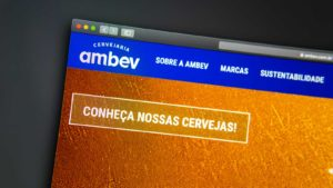 website image for ambev (ABEV)