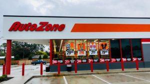 An AutoZone (AZO) storefront in Saint Augustine, Florida.