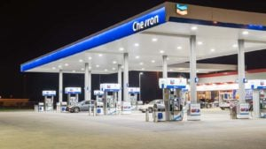 a Chevron (CVX) gas station