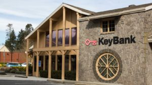 a Keybank building