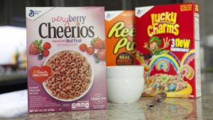 General Mills (GIS) Cereal food stocks