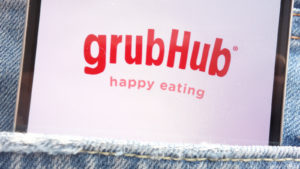 food delivery stocks grubhub
