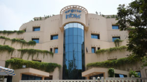 The regional office of Infosys (INFY) in Karnataka, India.